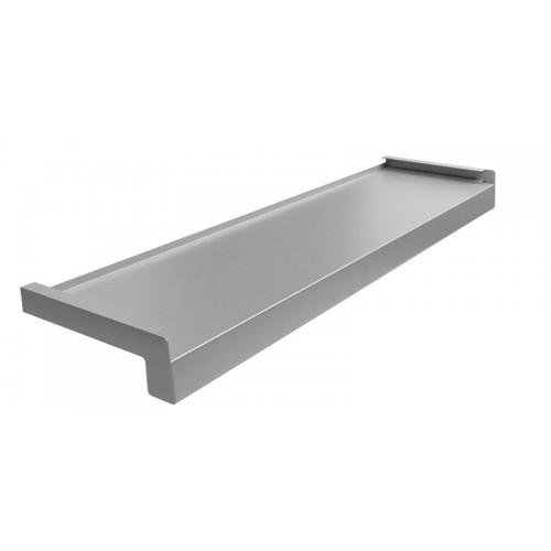 Parapet stalowy Srebrny RAL 9006
