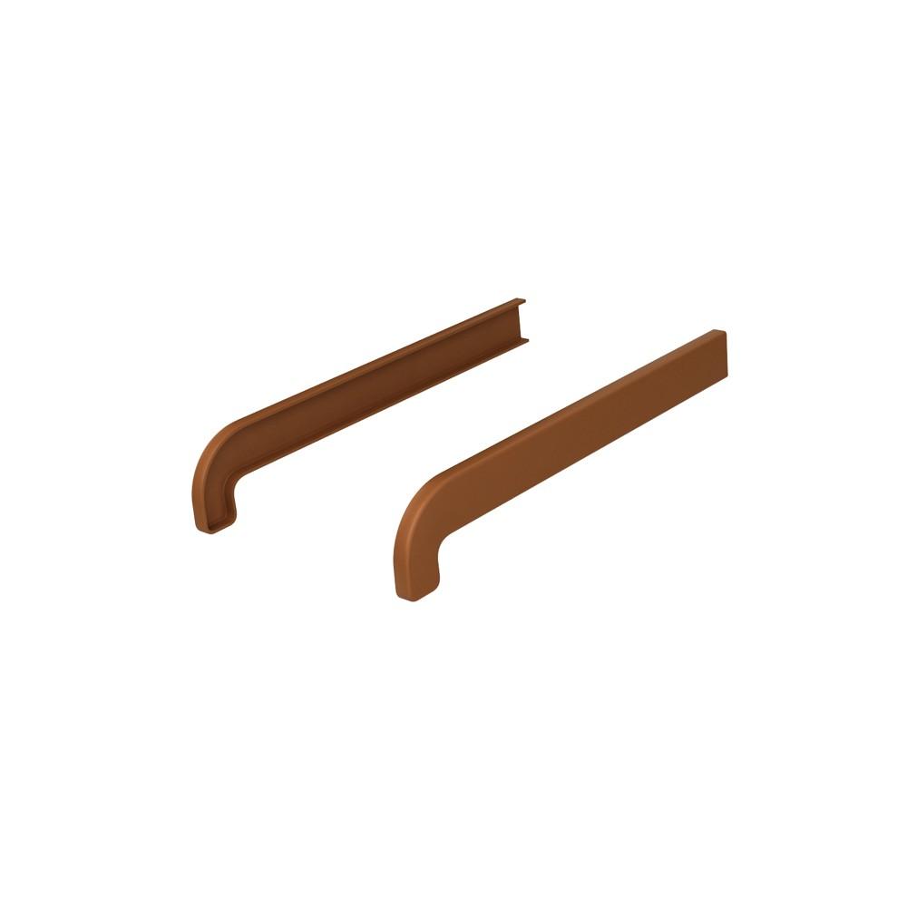 Zaślepka wewnętrzna parapetu PCV softline Złoty dąb