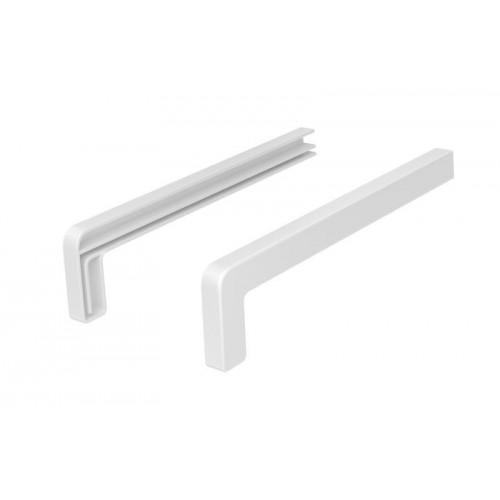 Zaślepki aluminiowe Premium  biały Ral 9016