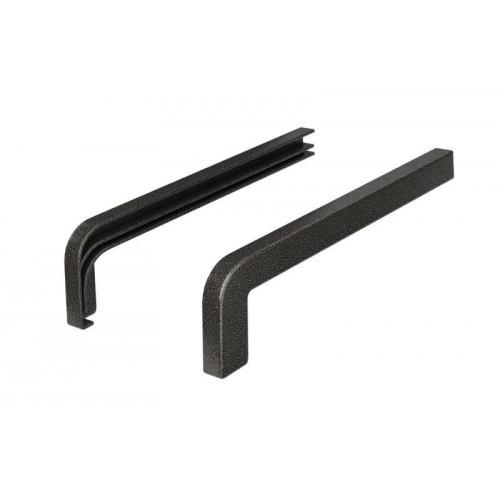 Zaślepki aluminiowe softline Premium RAL ANTYK STAL